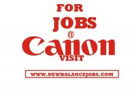 Canon jobs in Nigeria