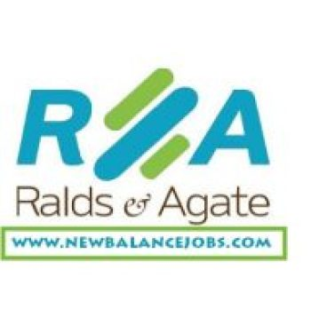 Ralds & Agate recruitment