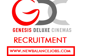 Genesis deluxe cinemas recruitment