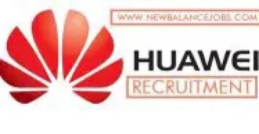 Huawei Technologies recruitment