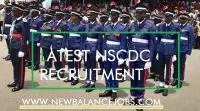 NSCDC Recruitment News