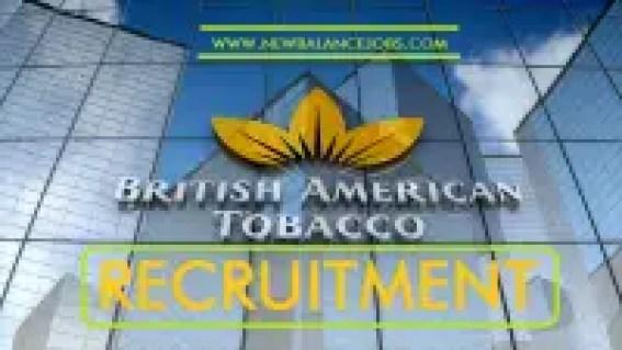 British American Tobacco Nigeria Recruitment 2020 Application