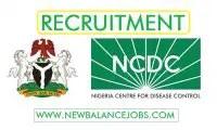 Nigeria Centre for Disease Control (NCDC) Recruitment 2020 Application form