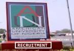 American University of Nigeria Recruitment
