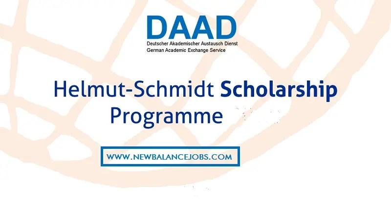 DAAD Helmut-Schmidt Masters Scholarships