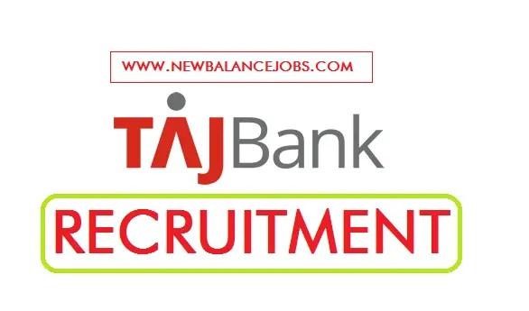 TAJ Bank Recruitment