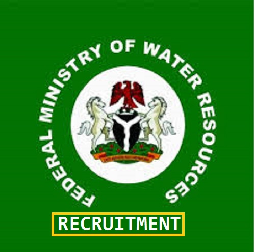 Federal Ministry of Water Resources Recruitment for Workshop and Equipment Manager