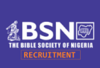 Bible Society of Nigeria recruitment
