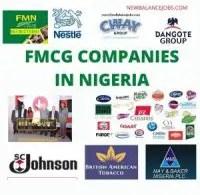 FMCG COMPANIES IN NIGERIA