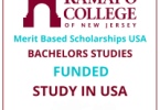 Ramapo College Merit-Based International award 2020-2021