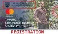 University of British Columbia Mastercard Foundation Scholars Program
