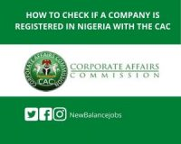 How to check if a company is registered in Nigeria with the CAC