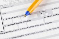 Social security number on job application