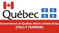 Government of Québec Merit scholarships