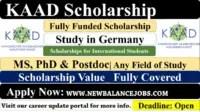 KAAD scholarships 2021