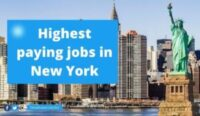 100 Highest paying jobs in New York