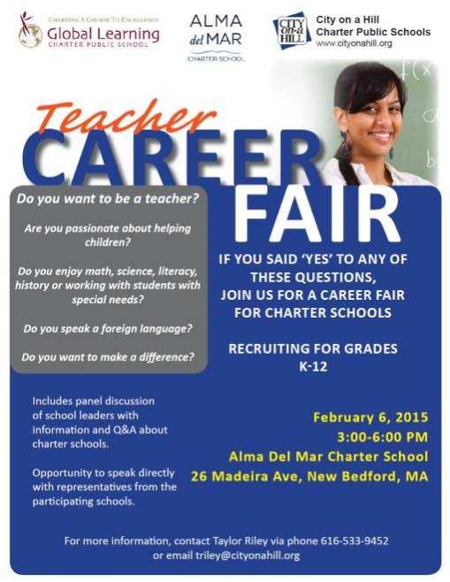 Flyer School Elementary Fair Career