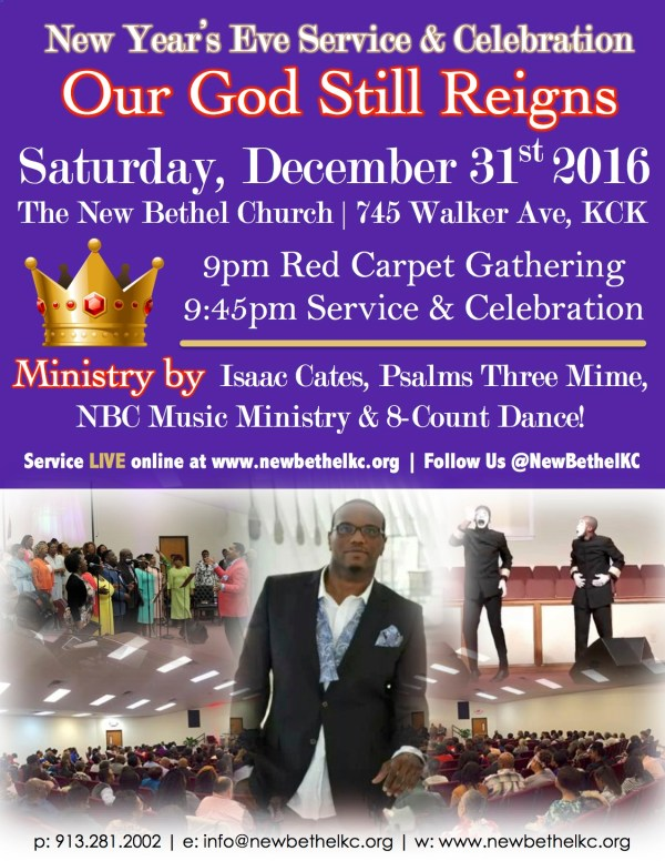 New Year's Eve at NBC | The New Bethel Church