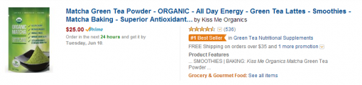 Kiss Me Organics Amazon Search Image