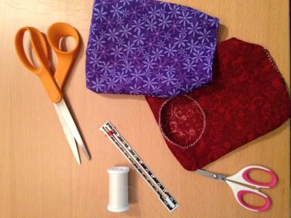 I sewed bag covers for myself