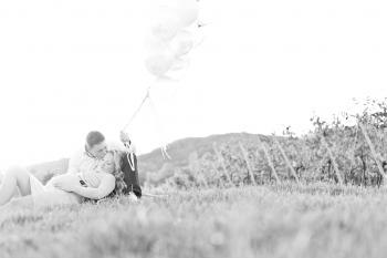 babybauchfotograf wien luftballons