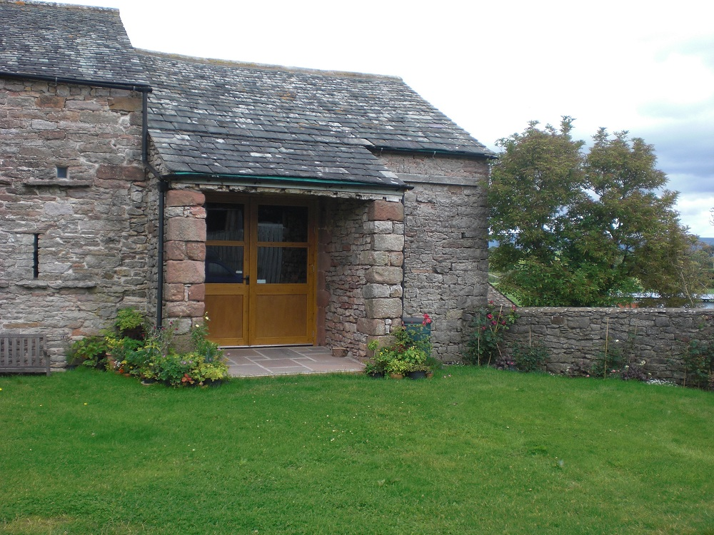The Great Barn - Foyer entrance