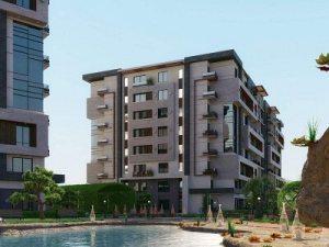 اصغر مساحة شقة فى كمبوند كابيتال هايتس العاصمة الادارية الجديدة