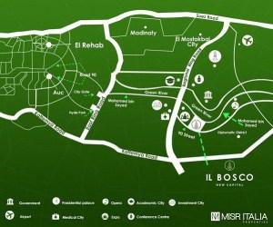 عنوان كمبوند البوسكو العاصمة الجديدة