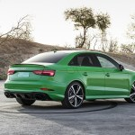 2018 Audi Rs3 Sedan Color Viper Green Rear Three Quarter Wallpapers 55 Newcarcars