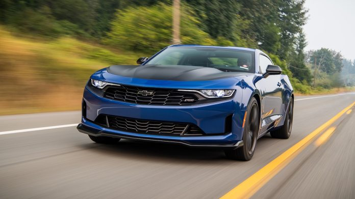 2019 Chevrolet Camaro Turbo 1le Front Three Quarter Wallpapers 83 Newcarcars
