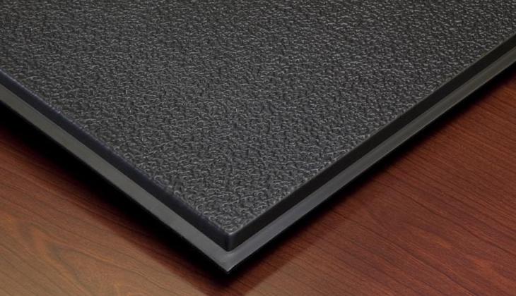 forever stucco revealed edge tegular 2 x 2 ceiling tiles 770 007 box of 12 black tiles