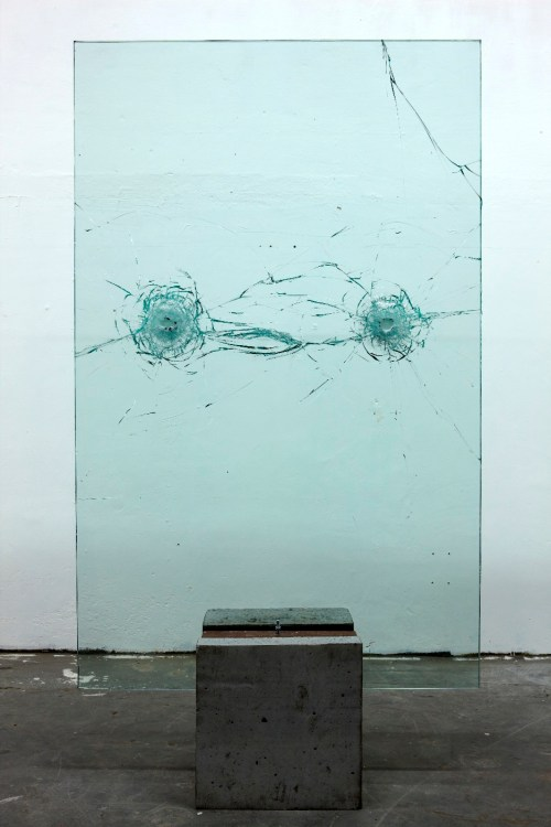 """An homage to Lina's easel by Marcelo Cidade, """"Suspended Time of a Provisional Status"""", 2011, Gift of the artist in 2014/Photo: MASP"""