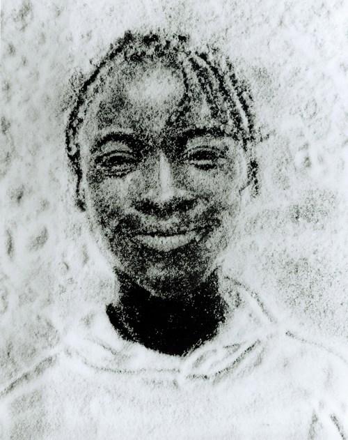 Vik Muniz, Crianças de açúcar, impressão sobre papel prata/gelatina, 34x26 cm cada (6 unidades), 1996, coleção particular.