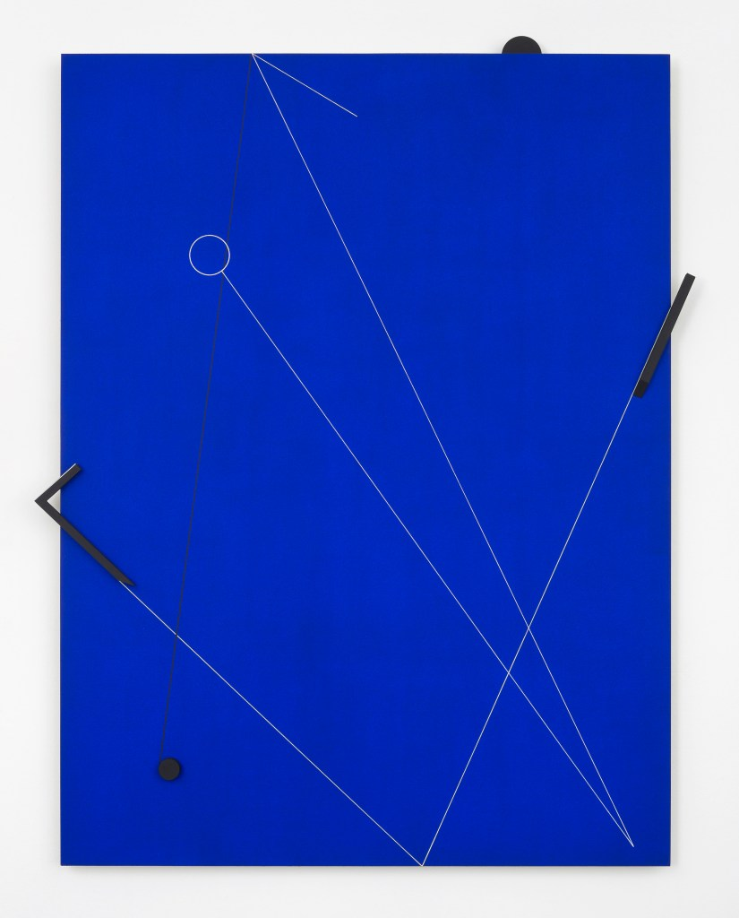 Macaparana, Untitled, 2016, pigment and acrylic paint over canvas glued on board, 82 x 63 cm
