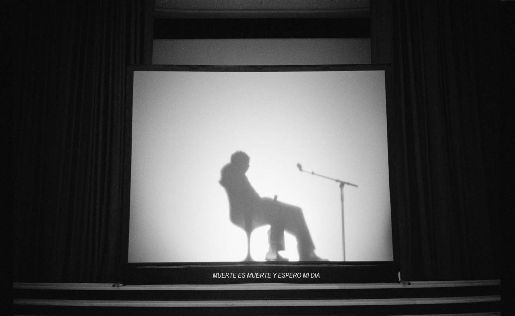 "Aníbal Lopez, Testimonio(Witness) (2012) Video,43'39."" Still from video/Courtesy of Prometeo Gallery di Ida Pisani, Milan"