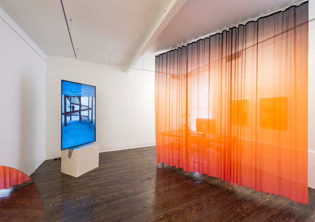 """Installation view of the show """"Human Ecology""""/Photo: Adam Reich - Galeria Nara Roesler, New York, 2016."""