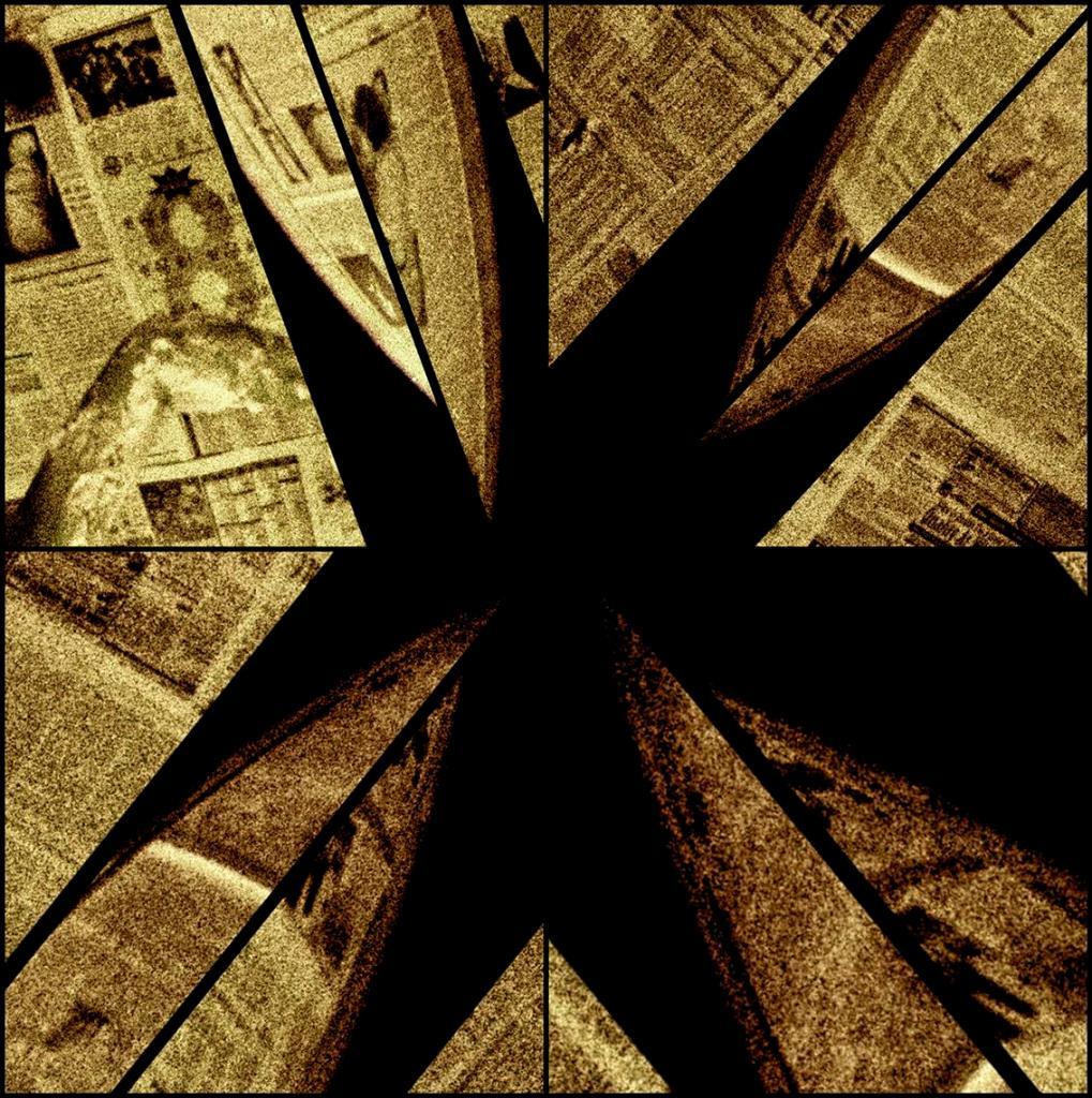 Penna Prearo, Labirintos revisitados # 09 (Revisited Labyrinths), 60 x 60 cm, courtesy Editora e Livraria Madalena