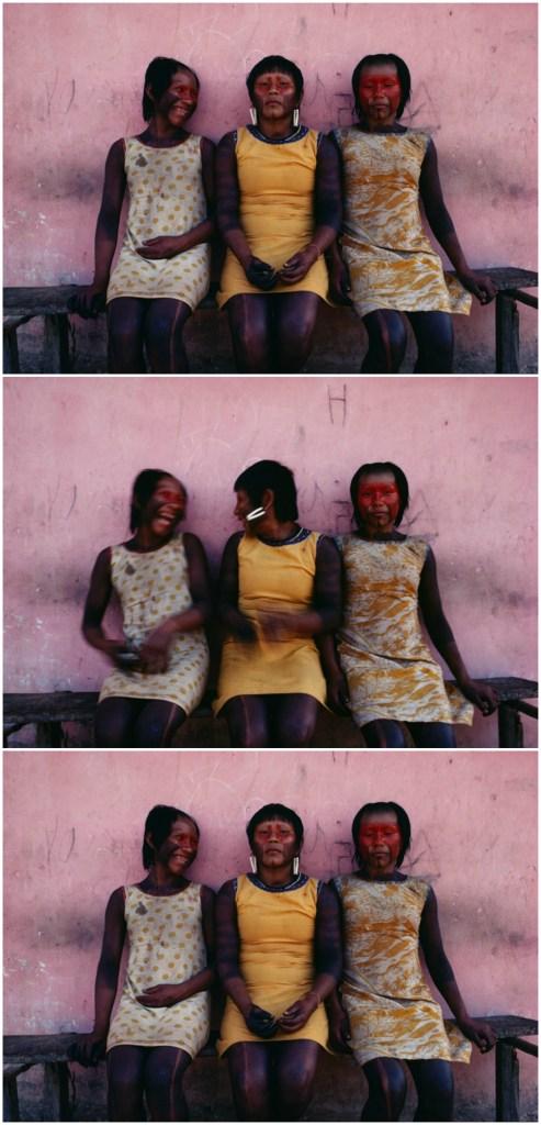 "Miguel Rio Branco, As Três Graças (The Three Graces), 1983/2016, 180 x 90 cm | 60 x 90 (each). Courtesy Galeria Millan, Exhibit ""Barro"" (Clay), 2016"