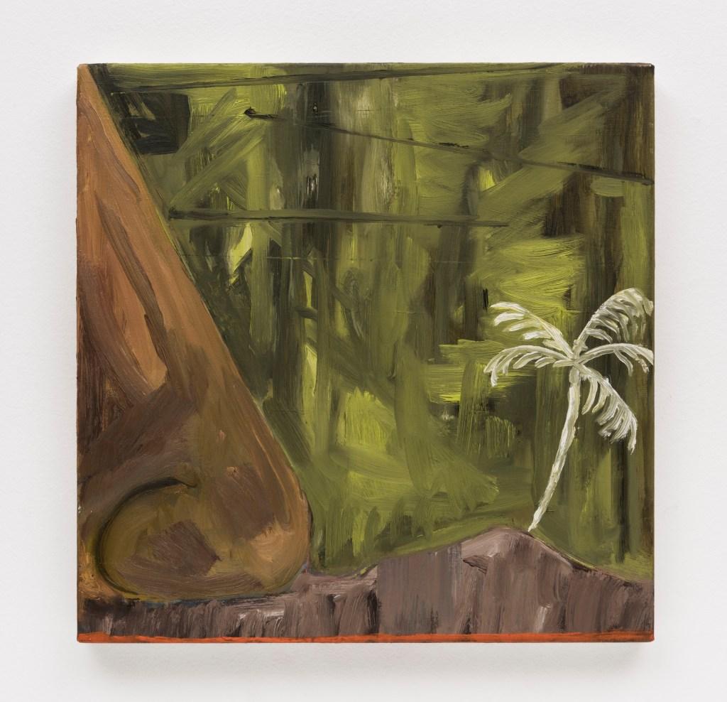 Rodrigo Bivar, Napa Rapa Nui, 2014, Oil on canvas, 40 x 40 cm/Photo: Ding Musa