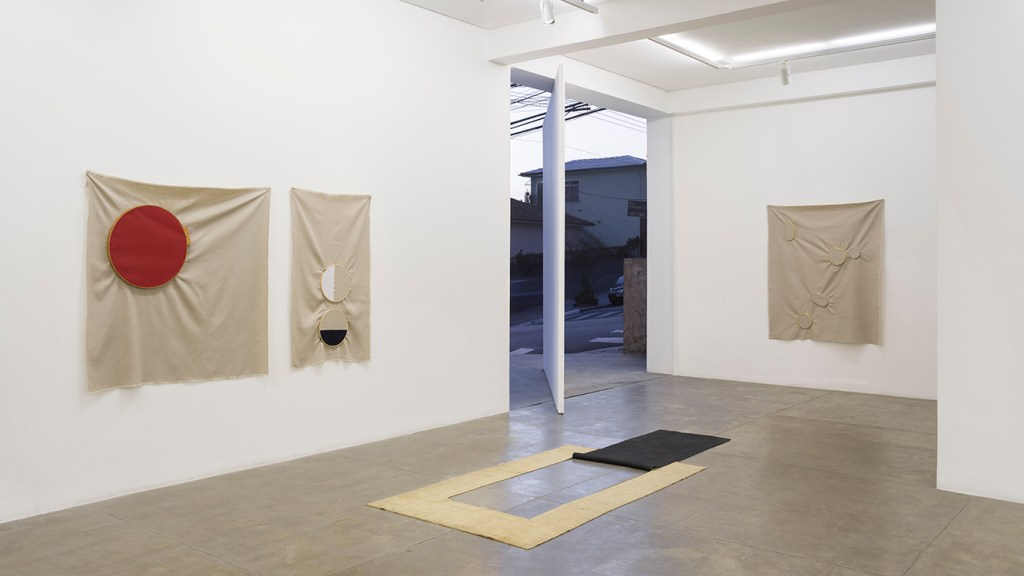 Exhibition view at Galeria Fortes Vilaça, 2016/Photo: Eduardo Ortega