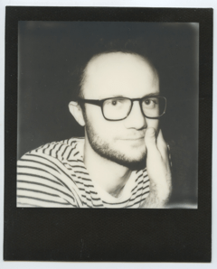 Art editor Elliot Reichert.