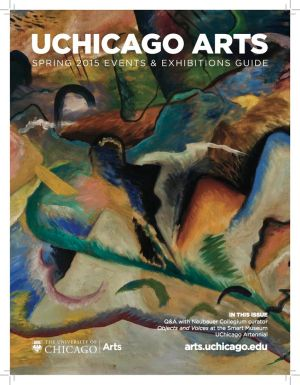 UChicago Arts Magazine Cover