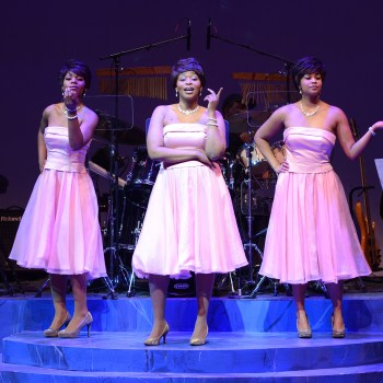 Kylah Frye, Rose Marie Simmons and Renelle Nicole/Photo: Michael Courier