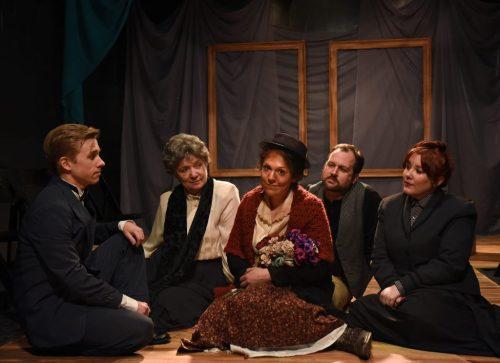Christopher Ratliff, Kristina M. Schramm, Nellie Ognacevic, Joseph Stearns and Kate Nawrocki/Photo: Scott Dray