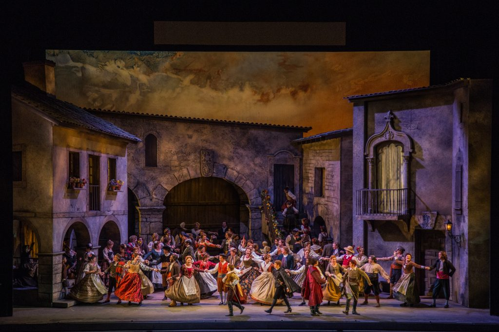 "The cast of ""Don Quichotte""/Photo: Todd Rosenberg Photography"