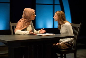 A Timely Tale of Race and Religion: A Review of Faceless at Northlight Theatre