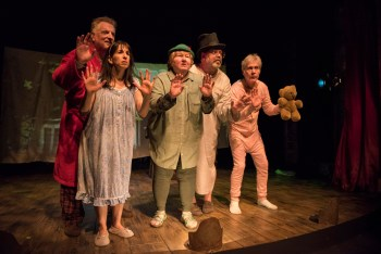 Grow Up: A Review of For Peter Pan On Her 70th Birthday at Shattered Globe Theatre