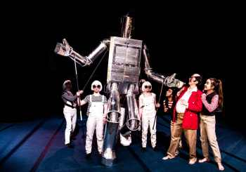 Space Circusry : A Review of Journey for the Sun at Actors Gymnasium