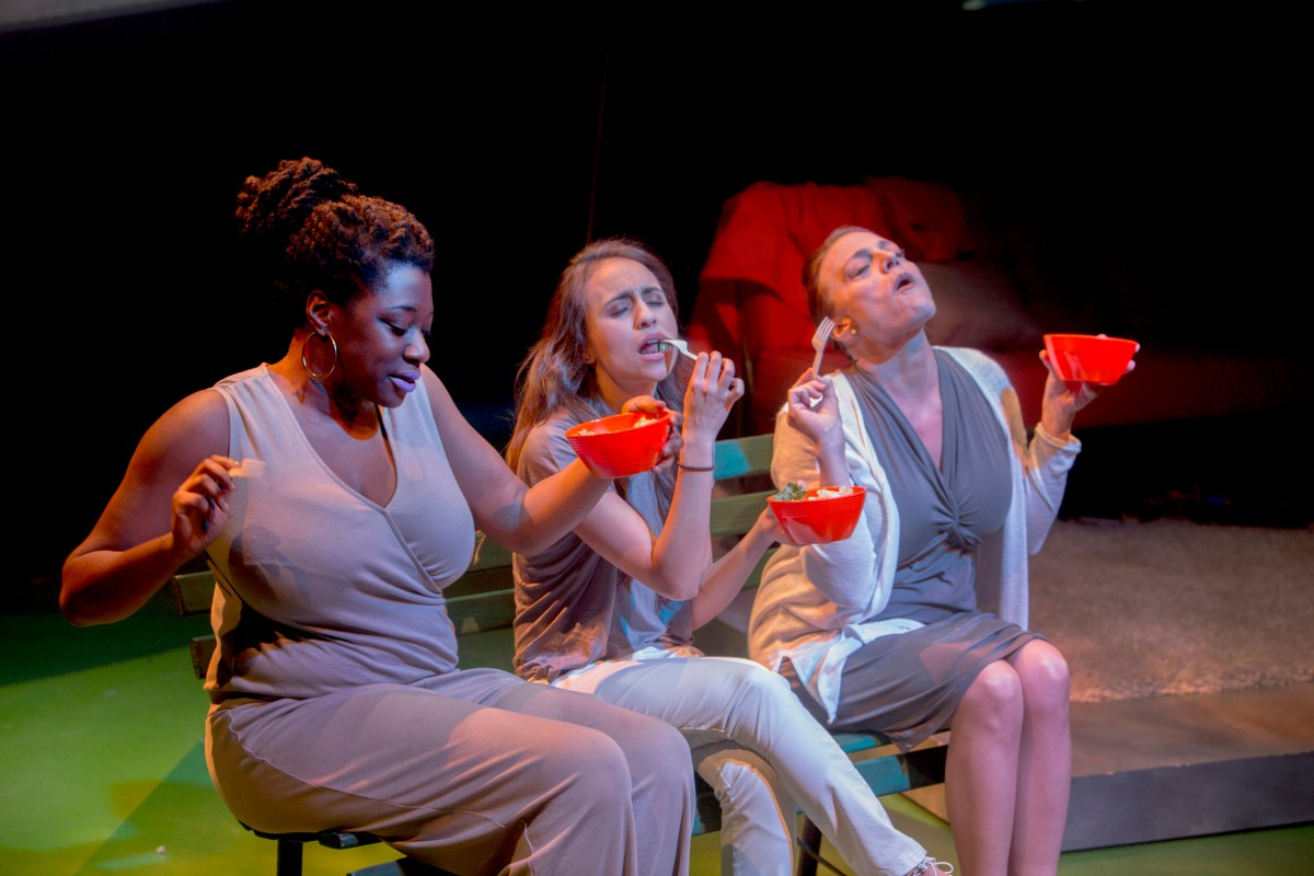 Outrage and Arugula: A Review of Women Laughing Alone With Salad at Theater Wit