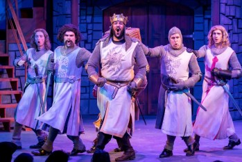Not Dead Yet: A Review of Spamalot at Mercury Theater Chicago